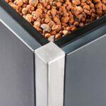 steel4nature pflanzkasten detail